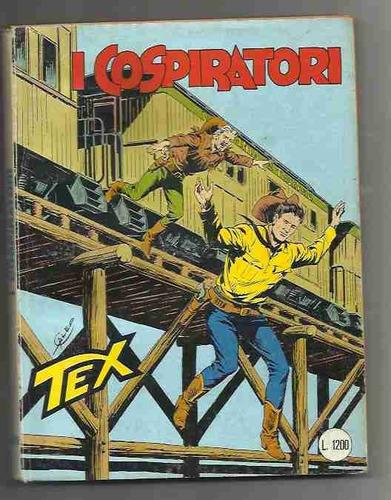 tex n°306 i cospiratori -aprile 1986 - bonelli