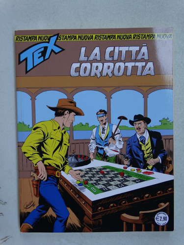 tex nuova ristampa nº 323! sbe italia! 2013!