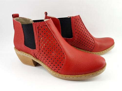 texana calada charro elastico  bota taco mujer zapatos 2018