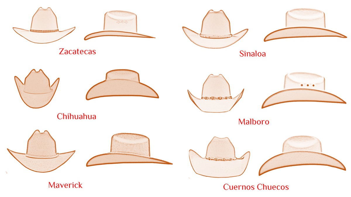 Texana pelo de conejo cualquier forma de ala en mercado jpg 1200x675  Tejanas estilo sinaloa 0124cf9946b