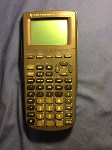 texas instrument calculadora gráfica ti-82