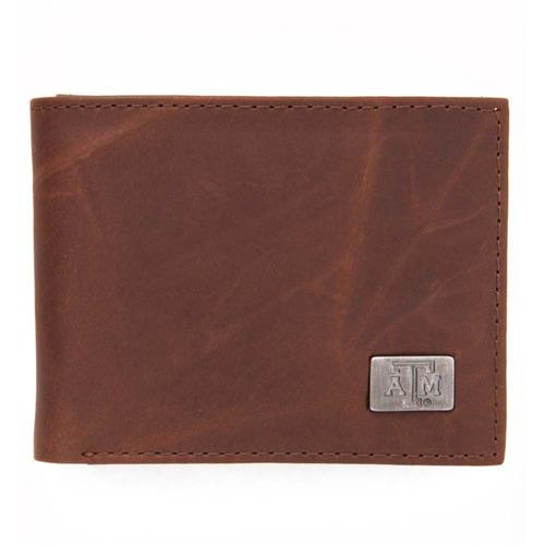 texas un bi-fold wallet