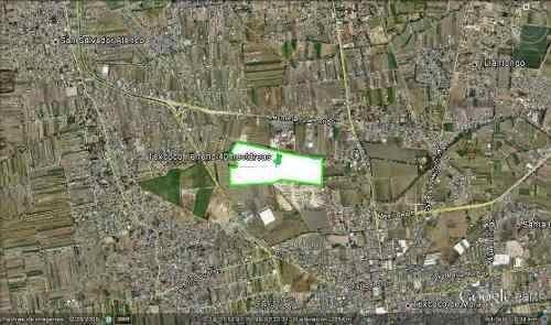 texcoco. terreno industrial divisible 343,000 m2.$2,200 x m2