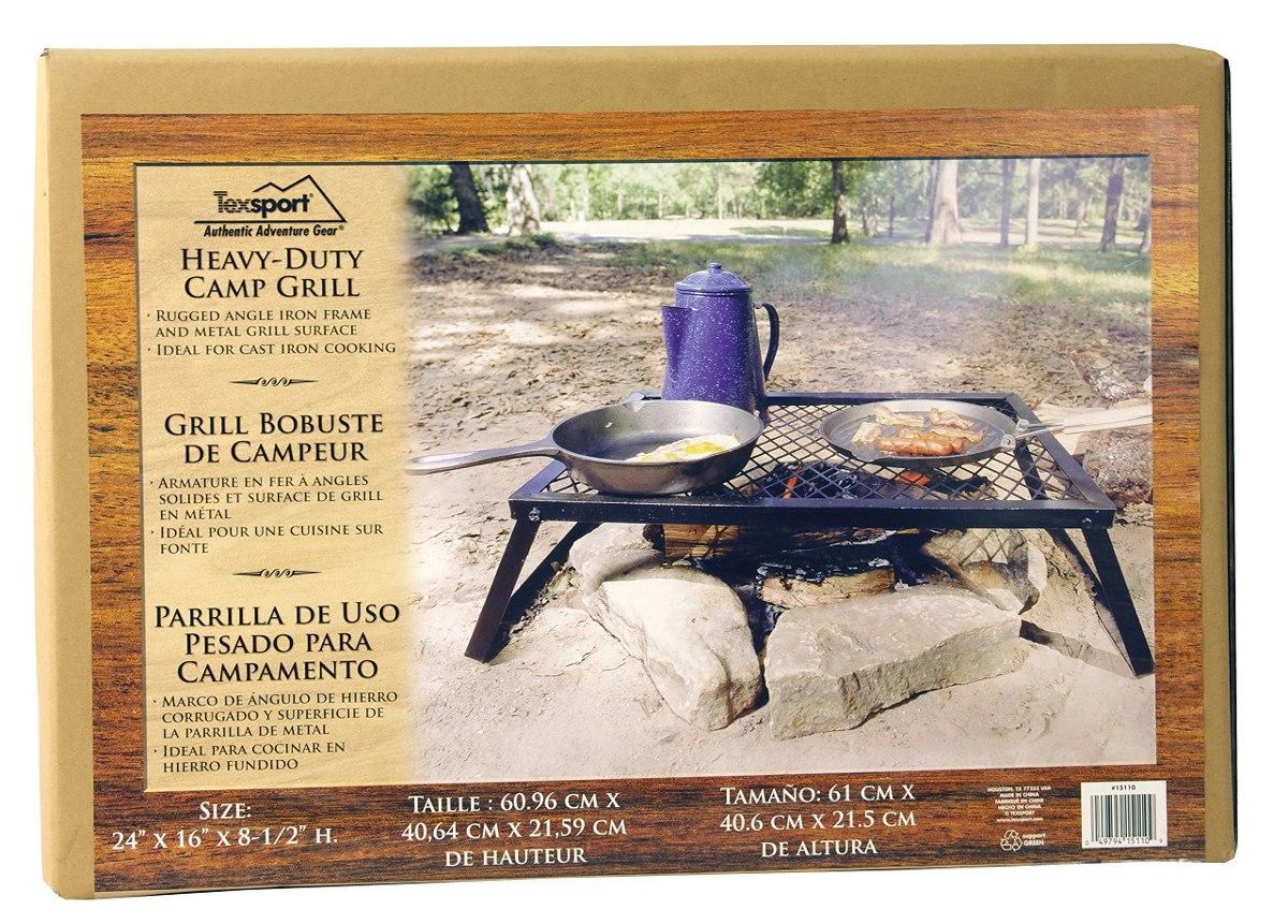 Texsport Heavy Duty Camp 24 X 16 Parrilla - $ 819.00 en Mercado Libre