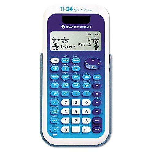 texti34mv - calculadora científica texas instruments ti34 mu