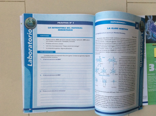 texto escolar ciencias biológicas teoría y práctica 5to año