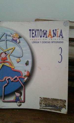texto manía educación primaria lengua y ciencias integradas