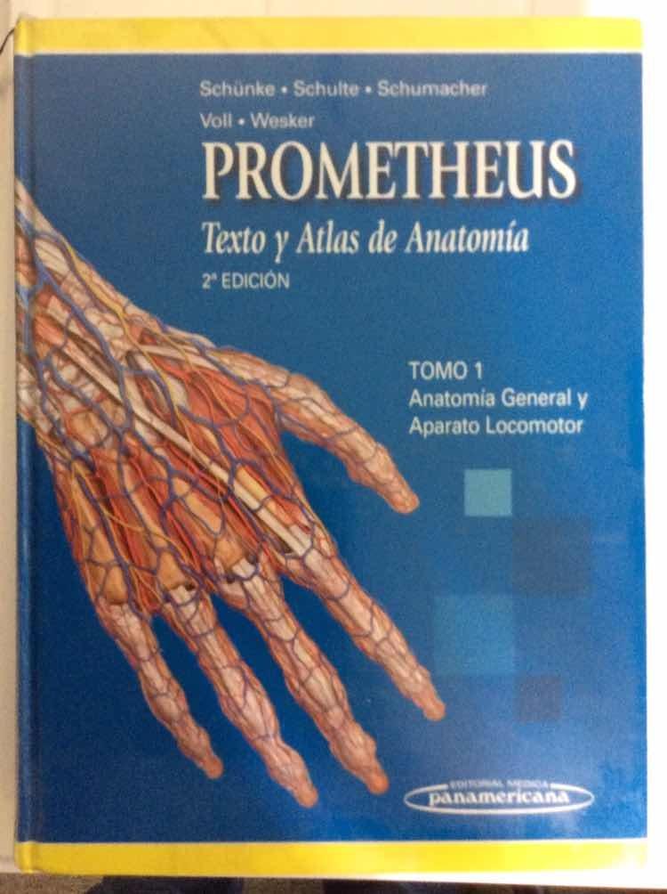 Texto Y Atlas De Anatomía Prometheus. 1ra Edición 3tomos ...
