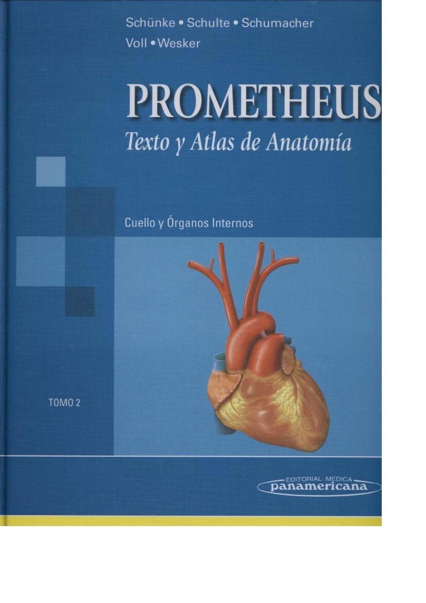 Texto Y Atlas De Anatomia Prometheus Tomo 2 - $ 39,75 en Mercado Libre
