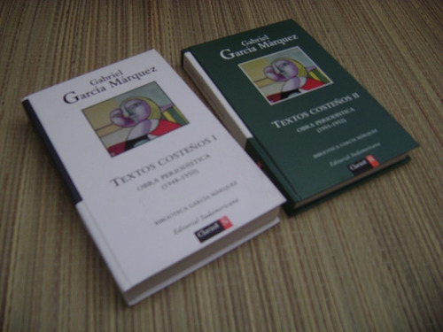 textos costeños.obra periodistica.l y ll.gabriel g,márquez.