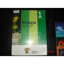 Biologia 1 Y 2 Santillana Impecables Educacion Secundaria