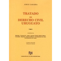 Tratado De Derecho Civil Uruguayo T. 1 - Jorge Gamarra
