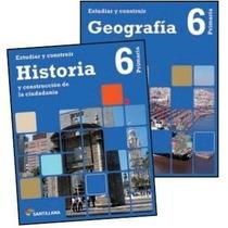 Pack Estudiar Y Construir 6 Geografía Historia Santillana