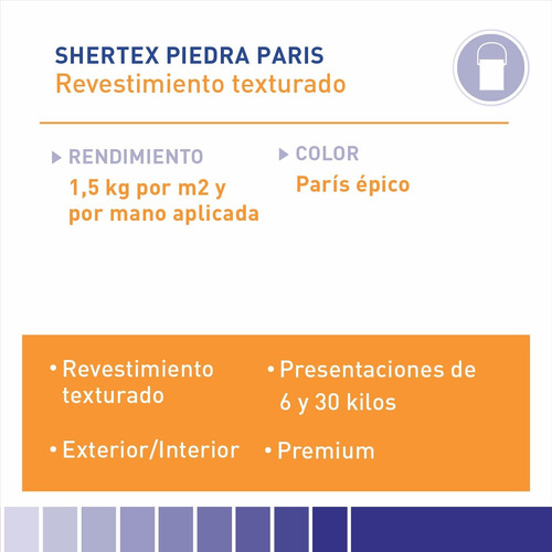 textura sherwin williams shertex piedra paris 6 kg.