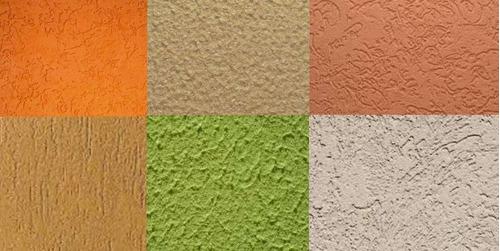 texturas de pintura y pañetes