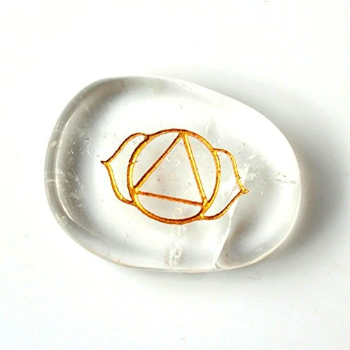 tgs estuche de gemas de shakra reiki con gemas, 7pzas