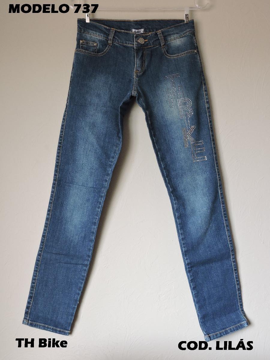 d9472004e Th Bike Calça Jeans Juvenil Com Strass - R$ 70,00 em Mercado Livre