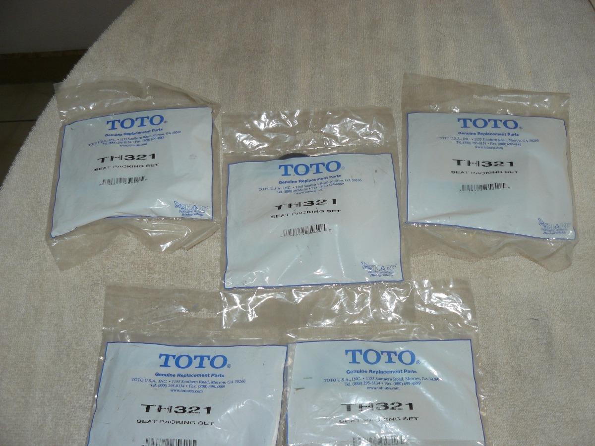 Th321 Kit De Sello / Fluxómetro De W.c Y Urinario. Toto - Bs. 1.000 ...