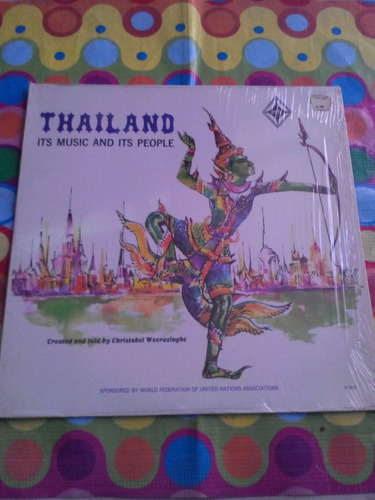 thailand lp its music and its people. importado u.s.a.