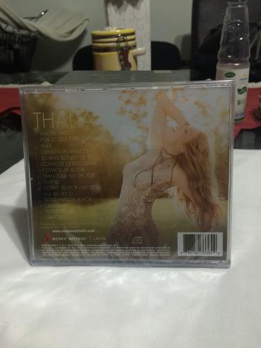 thalia- amore mio- edicion deluxe cd entrega inmediata!!