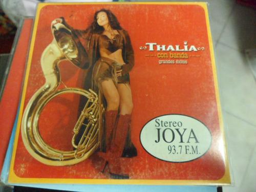 thalia cd promo con banda grandes exitos 4 tracks