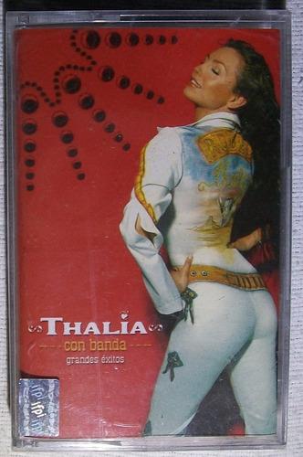 thalia con banda. grandes exitos. kct sellado emi 2001