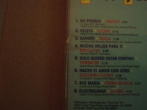 thalia furia juvenil timbiriche quinceañera cd raro