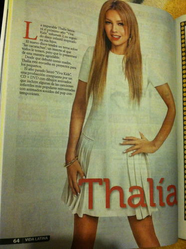 thalia revista vida latina