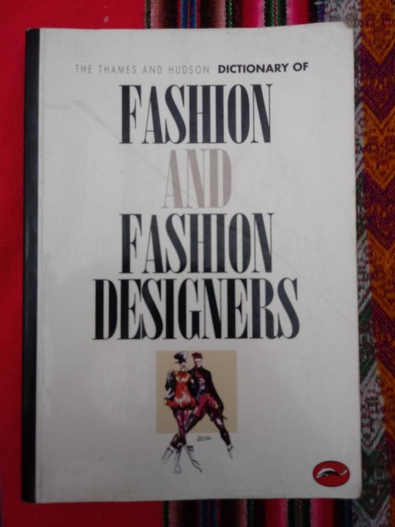 Thames And Hudson Dictionary Of Fashion And Fashion Designer 550 00 En Mercado Libre