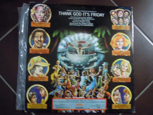 thank god it´s friday 2lps soundtrack