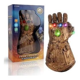 Thanos Guante Gemas Infinito Avengers Mano Puño Juguete Luz