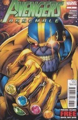 thanos infinity war avengers digital evento español varios