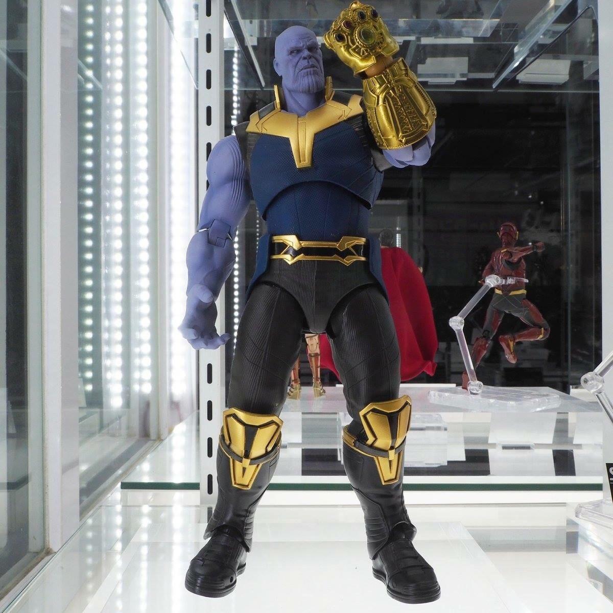 Thanos Infinity War Sh Figuarts Bandai Marvel Preorden S 390 00 En Mercado Libre