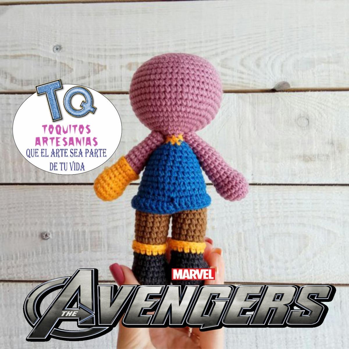 Thanos crochet amigurumi avengers infinity war by VictoriaYevl on ... | 1200x1200