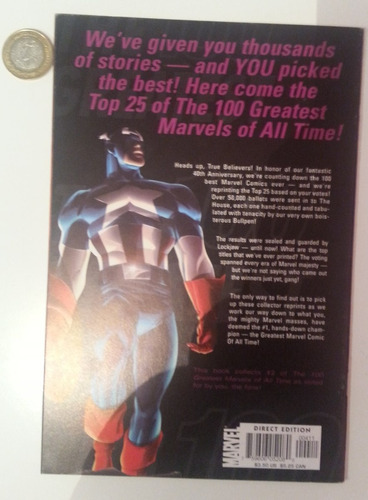 the 100 greatest marvels of all time, spider-man fantastic 4