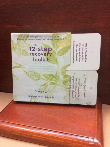 the 12- step recovery toolkit- stacey j.