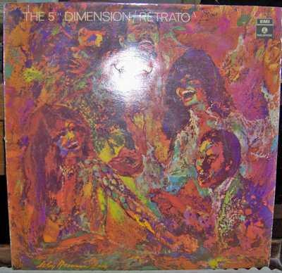 the 5th dimension retrato lp vinilo 1970 mb estado olivos