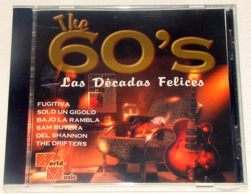 the 60's las decadas felices bobby solo del shannon + oa cd