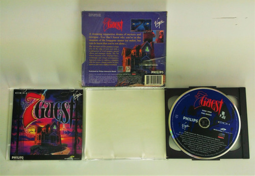 the 7 guest cd-i philips completo retromex tcvg