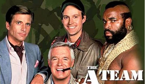 the a-team / los magnificos serie completa digital + regalo