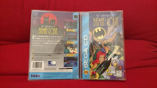 the adventures of batman & robin americano completo sega cd