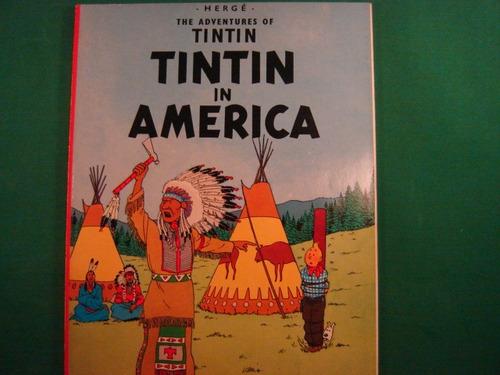 the adventures of tintim - tintim in america-  em  ingles