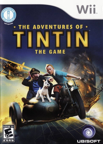 the adventures of tintin: the game wii usado
