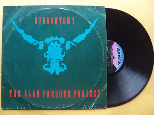 the alan parsons project- lp stereotomy- 1986- original!