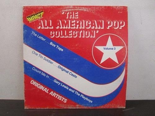 the all american pop collection vinilo lp printed usa 1980 e