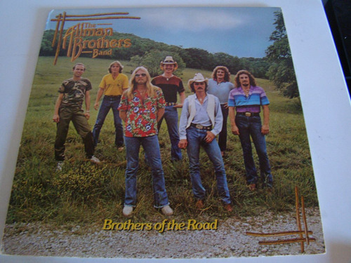 the allman brothers band brothers of the road lp usa vinilo