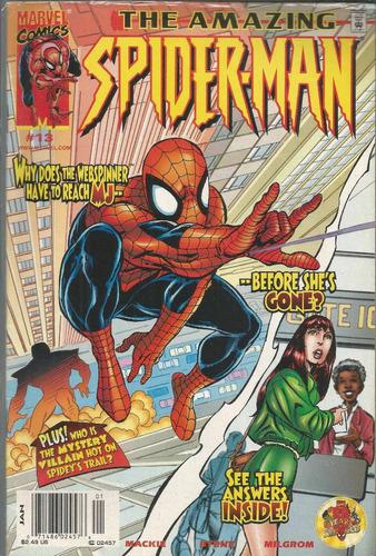 the amazing spider-man 13 - marvel - bonellihq cx72 g19
