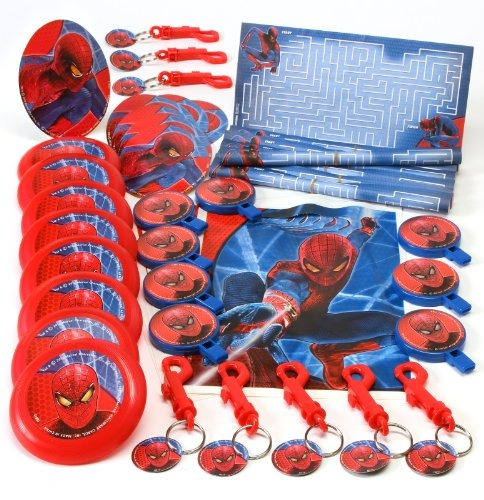 the amazing spiderman - paquete de 48 piezas