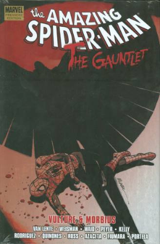the amazing spiderman - the gauntlet - hardcover