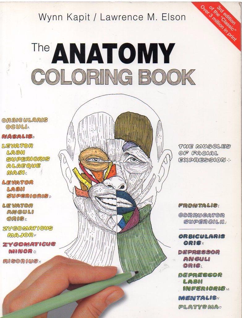 The Anatomy Coloring Book (en Inglés), De Kapit & Elson,